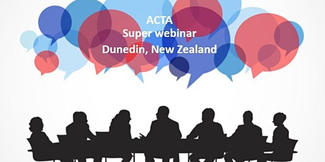 Implementability: Plan, design, conduct & report clinical trials (Dunedin) tickets
