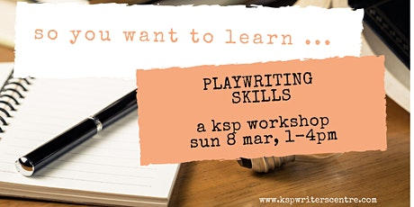 So You Want to Learn Playwriting Skills tickets