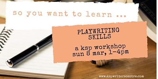 So You Want to Learn Playwriting Skills