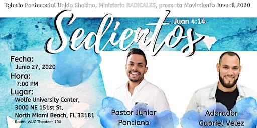 SEDIENTOS  2020 | Evento Juvenil con Junior Ponciano y Gabriel Velez