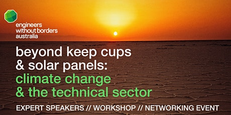 Reimagining the role of the technical sector in the face of Climate Change tickets