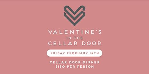 Valentines Day Dinner in the Cellar Door