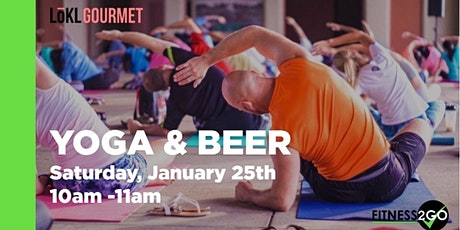 Yoga & Beer tickets