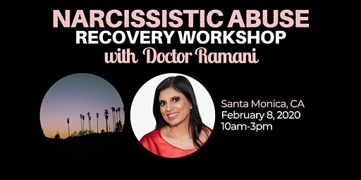 Narcissistic Abuse Recovery Workshop with Dr. Ramani Durvasula