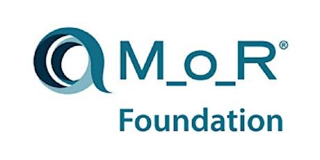 Management Of Risk Foundation (M_o_R) 2 Days Training in Vienna Tickets