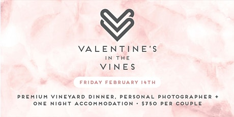 Valentines in the Vines tickets