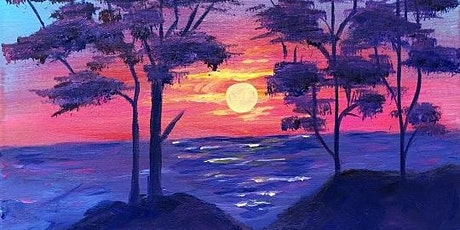 Paint and sip  'A Beautiful Sunrise' tickets