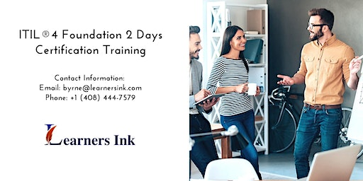ITIL®4 Foundation 2 Days Certification Training in Brisbane