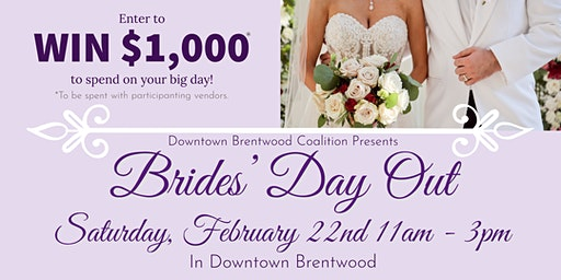 Brides' Day Out 2020 - In Downtown Brentwood