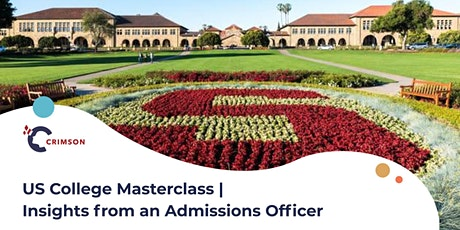 US College Masterclass | Insights from an Admissions Officer (MEL) tickets