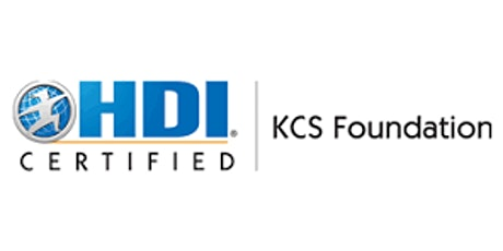 HDI KCS Foundation 3 Days Training in Reading tickets