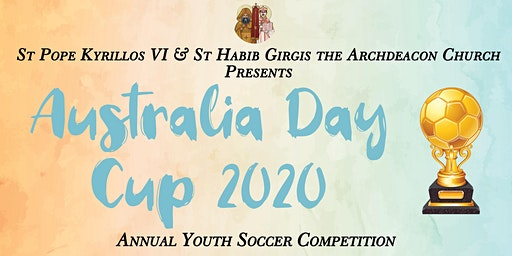 Australia Day Cup 2020 - Annual Youth Soccer Competition