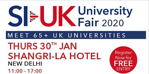 UK Education Fair 2020.Don't forget to Attend India's biggest UK Education