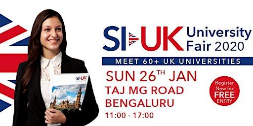 SI-UK Education fair 2020 in Bengaluru
