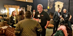 Business networking at The Salvage House, Whalley - by...