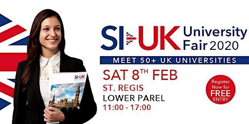India's Biggest UK Education fair in Mumbai on 8th Feb 2020