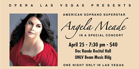 Angela Meade Recital tickets
