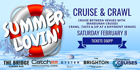 Summer Lovin' Cruise Crawl tickets