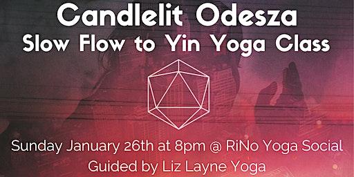 Candlelit Odesza Slow Flow to Yin Yoga Class w/ Liz Layne