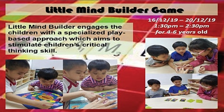 Little Mind Builder Game tickets