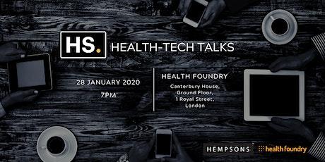 HS. Health-Tech Talks - Growing A Startup tickets