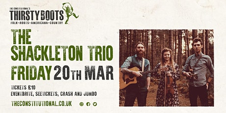 The Shackleton Trio tickets