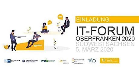 IT-Forum Oberfranken 2020 Tickets