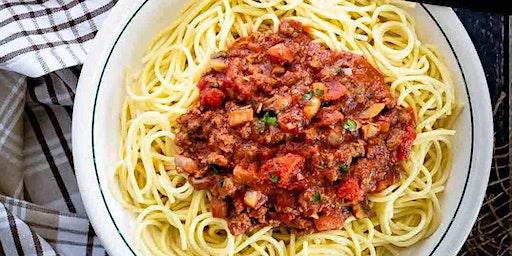Spaghettiavond tvv Kom Op Tegen Kanker