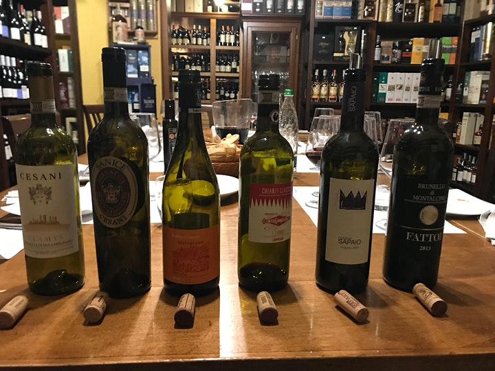 Immagine The great wines of Tuscany in Lucca
