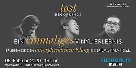 THE lost RECORDINGS im AUDITORIUM Hamburg Tickets