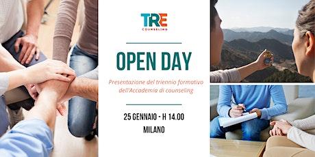 TRE Counseling: Open day di presentazione corsi a Milano biglietti
