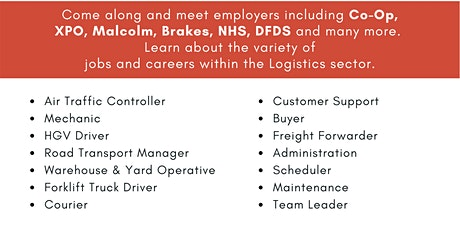 Careers in Logistics & Supply Chain tickets