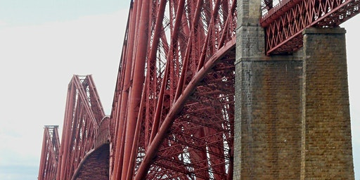 Forth Rail Bridge Abseil for SCIAF