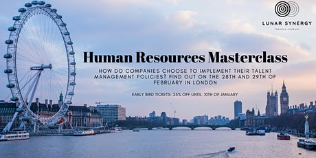 Human Resources Masterclass - London tickets