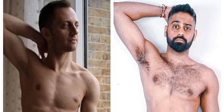 NATURIST ONLY - Artistic Duo drawing session with Joe & Ricky tickets