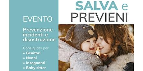 SALVA e PREVIENI_Farmacia ROMBON biglietti