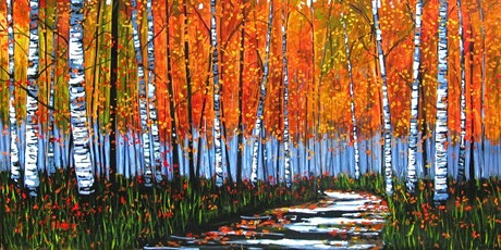 Birch Forest - Social Art Class tickets