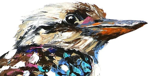 Beautiful Kookaburra - Social Art Class