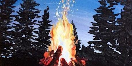 Camp Site Fire - Social Art Class tickets