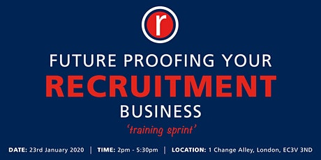 Future Proofing Your Recruitment Business tickets