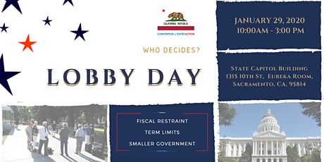 California LOBBY DAY 2020Do Something! Your Voice Matters! tickets