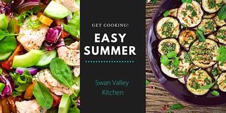 Summer vegetarian and vegan meals for lunch or dinner tickets
