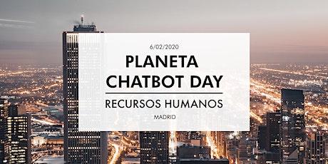 Planeta Chatbot Day: Recursos Humanos entradas