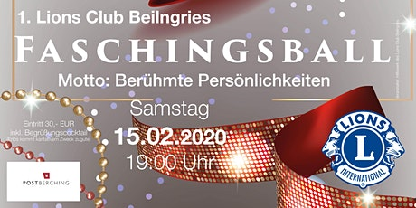 1. Lions Club Beilngries Faschingsball Tickets