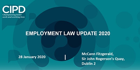 Employment Law Update 2020 tickets
