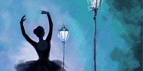 Ballerina In the Night - Social Art Class tickets