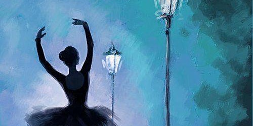 Ballerina In the Night - Social Art Class