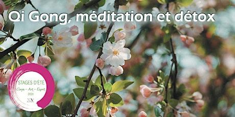 Stage d'été : Qi Gong, méditation et détox billets