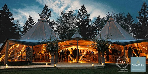 Tipis at Whatton House - Spring Open Day 2020
