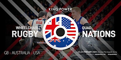 King Power Wheelchair Rugby Quad Nations 2020 - Friday Morning Session